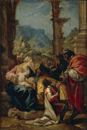 Pier Francesco Mazzucchelli - Adoration of the Magi