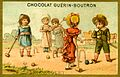 Advertising card depicting children playing croquet on the sand (14872954863).jpg