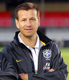 Dunga Brazilian footballer and manager