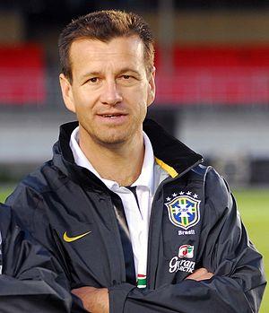Dunga - Dunga with Brazil in 2008