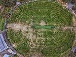 Aerial topdown of the sporting oval at Morton Park, Blackburn.jpg