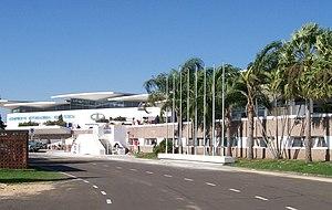Resistencia International Airport - Image: Aeropuerto Internacional Resistencia from entry