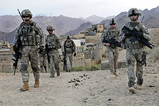Afghanistan - American Soldiers FOB Baylough
