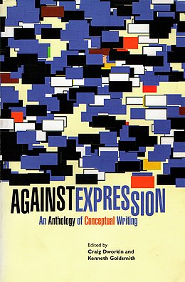 Omslag Against Expression: An Anthology of Conceptual Writing