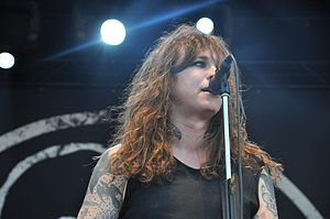 Laura Jane Grace - Grace performing in 2014