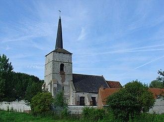 Agnières - The church of Agnières