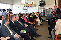 Agriculture Secretary Tom Vilsack outlines USDA efforts to raise a healthier generation of Americans and highlights efforts to improve school meals during his visit to the Henry A. Wolcott Elementary School (Pic 2).jpg