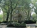 Ahlen - Rad des Förderturms vor dem Rathaus.jpg