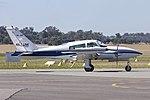 Air-Link (VH-JMP) Cessna 310R taxiing at Wagga Wagga Airport.jpg