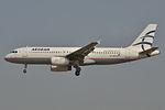 Airbus A320-200 Aegean AL (AEE) SX-DVH - MSN 3066 - Named Nostos (9370970517).jpg