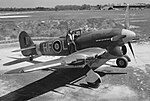 Aircraft of the Royal Air Force 1939-1945- Hawker Typhoon. CH9289.jpg
