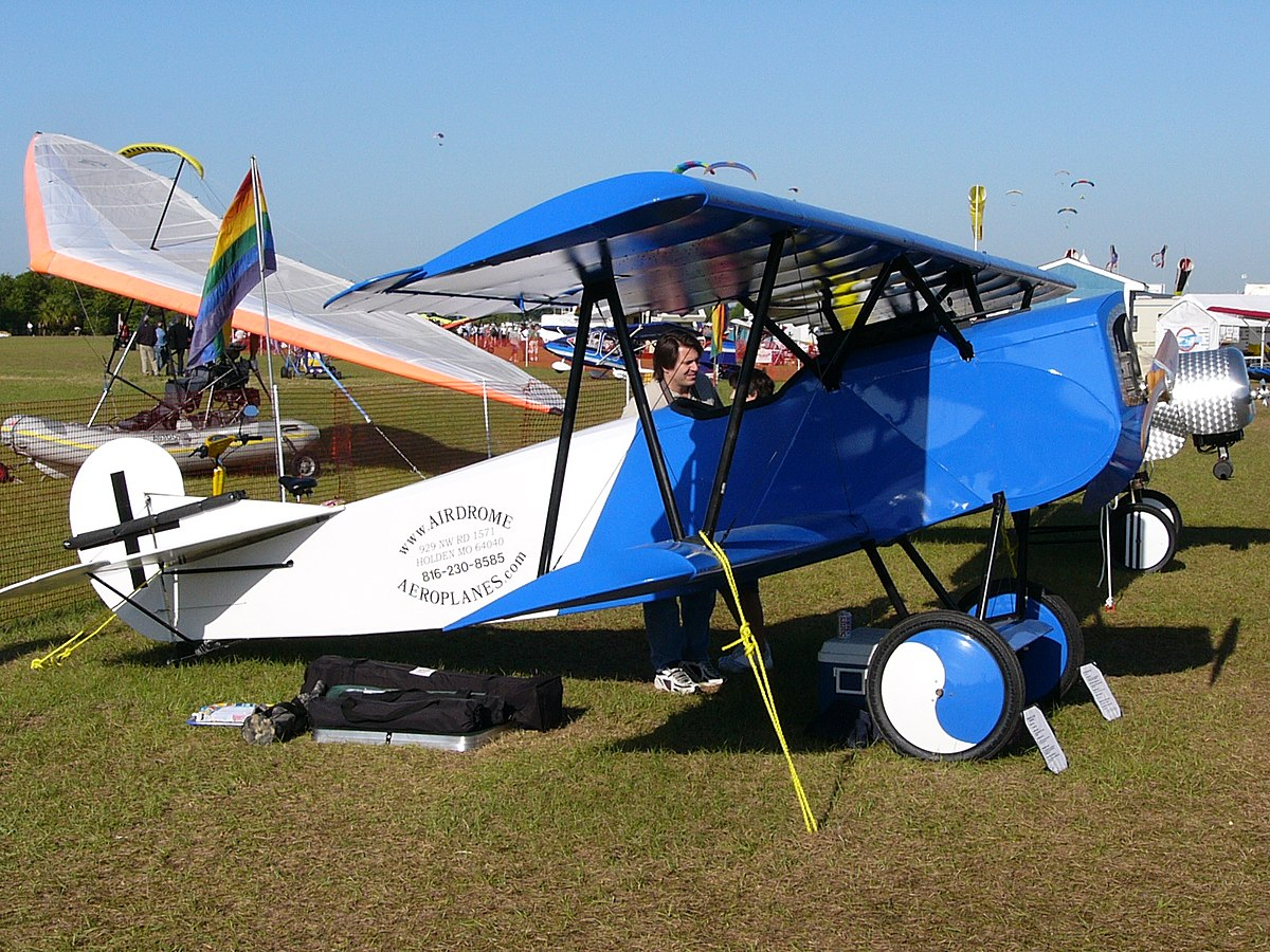 Biplane For Sale >> Airdrome Fokker D-VII - Wikipedia