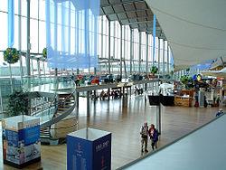 Аэропорт Стокгольм-Арланда.