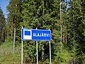 Alajärvi municipal border sign 20170613.jpg