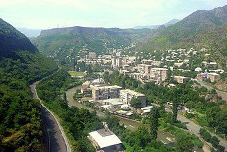 Alaverdi, Armenia - General view of Alaverdi