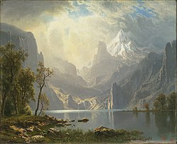 Albert Bierstadt: In the Sierras / Lake Tahoe