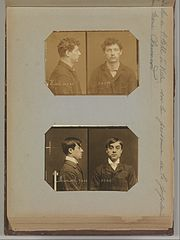 Album of Paris Crime Scenes - Attributed to Alphonse Bertillon. DP263694.jpg