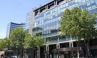 Alcatel-Lucent - Headquarters in Boulogne-Billancourt, France