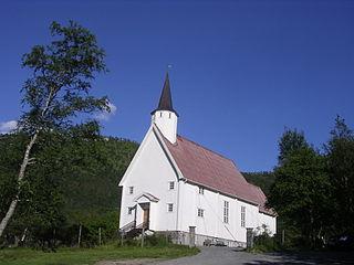 Aldersund Church Church in Nordland, Norway