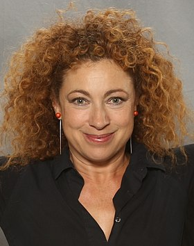 Alex Kingston, l'interprète de River Song.