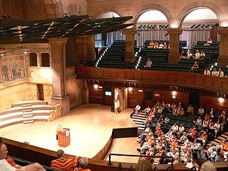 Alexander Hall (Princeton University) - Image: Alexander Hall auditorium Princeton