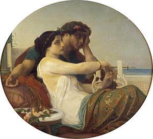 Boniface of Tarsus - Aglaida and Boniface (painting by Alexandre Cabanel)