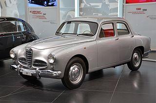 sports sedan designed by Orazio Satta