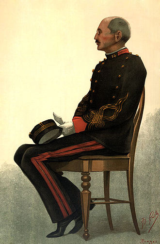 Alfred Dreyfus - Dreyfus painted by Guth for Vanity Fair, 1899