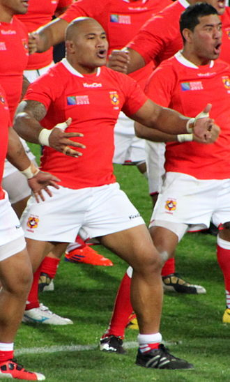 Sona Taumalolo - France vs Tonga during 2011 Rugby World Cup