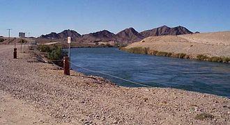All-American Canal - All-American Canal near Algodones Road