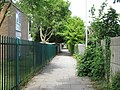 Alley by Weatherfield School - geograph.org.uk - 2468420.jpg