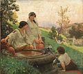 Alois Hans Schram Am Brunnen 1889.jpg