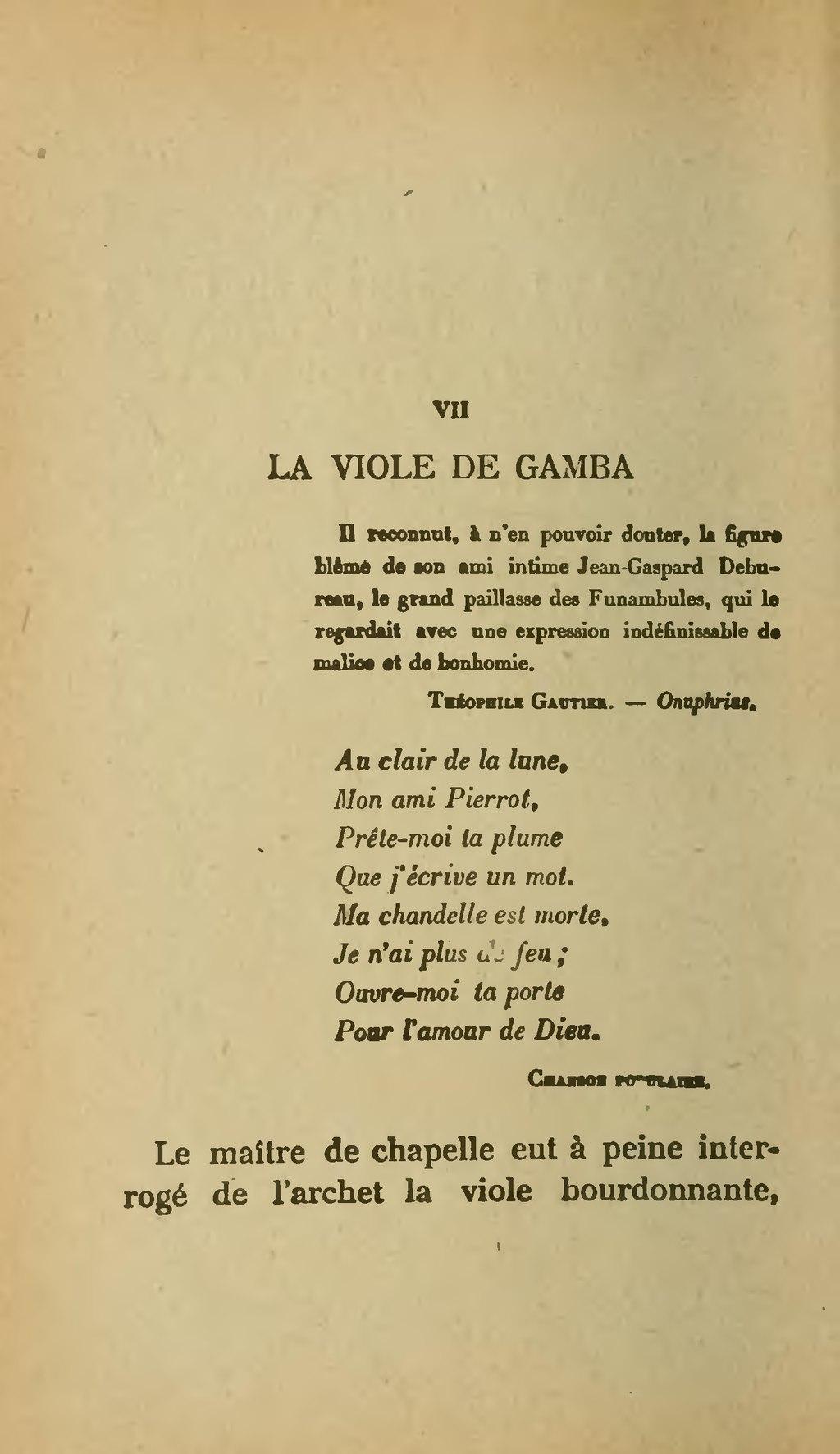 Page aloysius bertrand gaspard de la nuit dition 1920 - Ouvre moi ta porte pour l amour de dieu ...