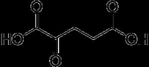 Glutamate dehydrogenase - Image: Alpha ketoglutaric acid