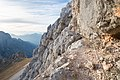 Alpi Giulie, sentiero attrezzato Leva.jpg