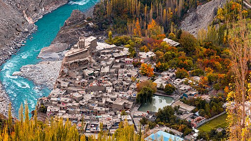 Altit Fort from Hunza Top
