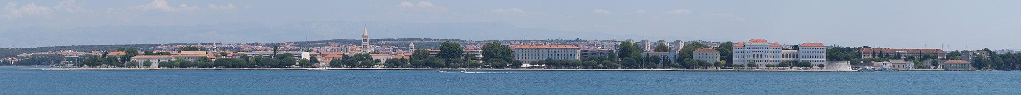 Panoramo de Zadar