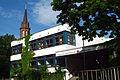 Am Lindener Berge 11 Integrierte Gesamtschule Hannover-Linden Haupteingang vom Neubau am von-Alten-Garten.jpg