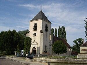 Amance, Aube - Image: Amance église 1
