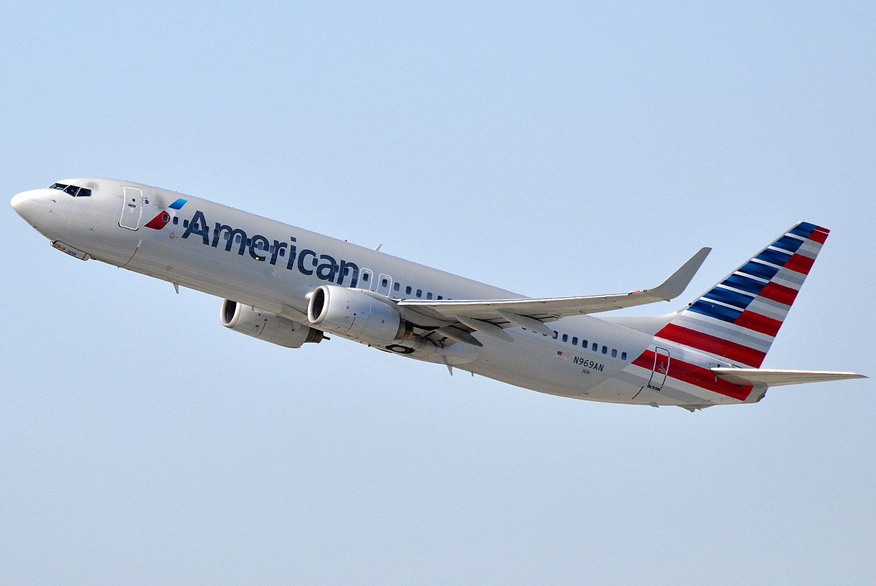File American Airlines Boeing 737 823 Wl N969an Lax