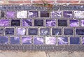 Amethyst glass light bricks, Walmer Castle - geograph.org.uk - 237141.jpg