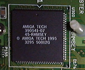 Amiga custom chips - Ramsey in A4000