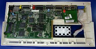 Amiga 1200 - An Amiga 1200 main board