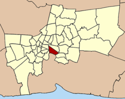 Khet location in Bangkok