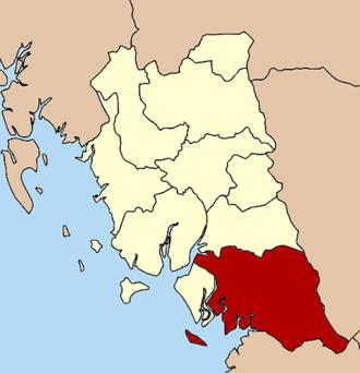 Palian District - Image: Amphoe 9204