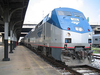 Gulf Coast of the United States - Sunset Limited in Houston.