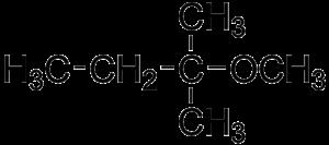 Tert-Amyl methyl ether - Image: Amyl methyl ether