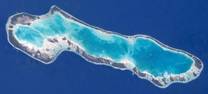 Anaa - NASA picture of Anaa Atoll
