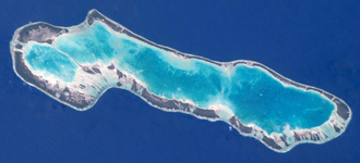 Anaa Airport - NASA picture of Anaa Atoll