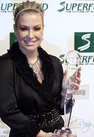 Anastacia discography - Anastacia at the Women's World Award 2009.